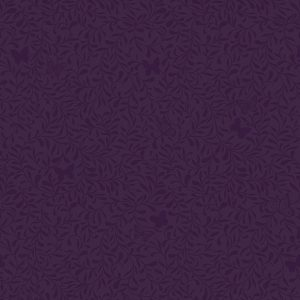 papel de parede raminhos roxo