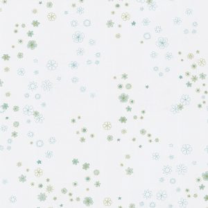 papel de parede florzinha verde