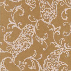 papel de parede ornamentos dourado