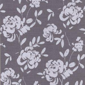 papel de parede floral roxo