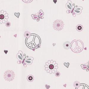Papel de parede infantil | Floral e estampado