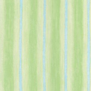 papel de parede infantil listrado verde e azul