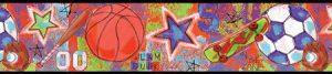 faixa de papel de parede esportes