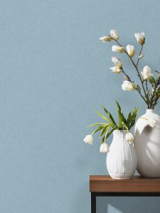 papel de parede azul purista