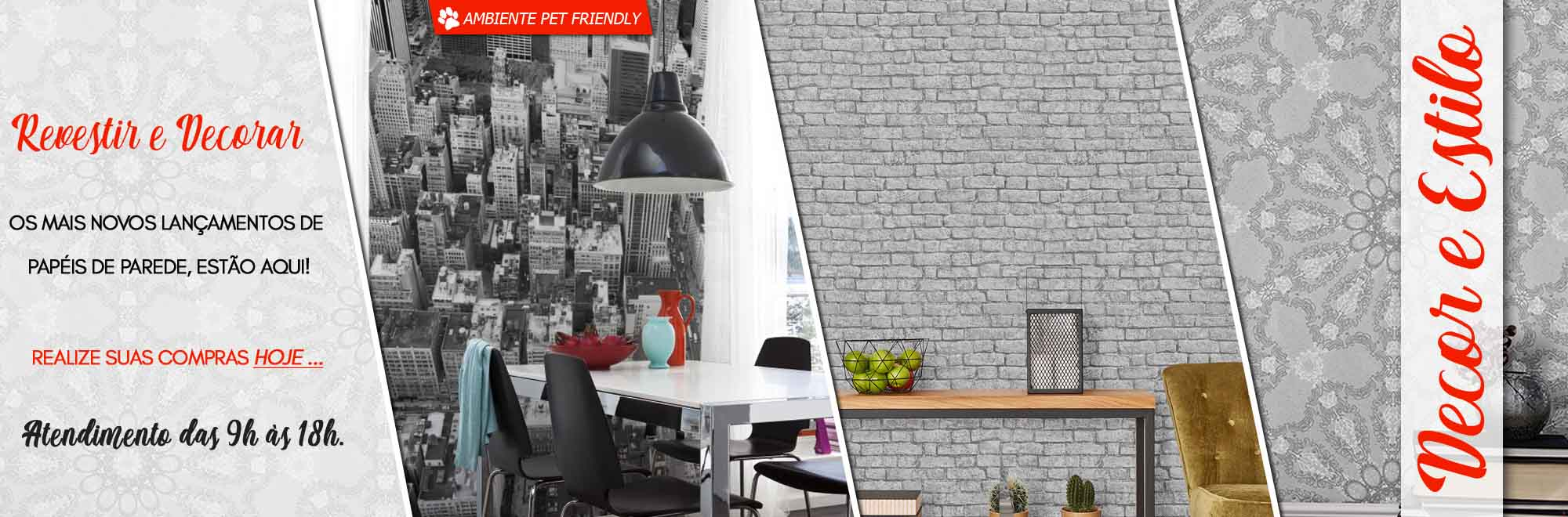 loja de papel de parede e decoração para casa, no bairro da Mooca e próximo ao extra