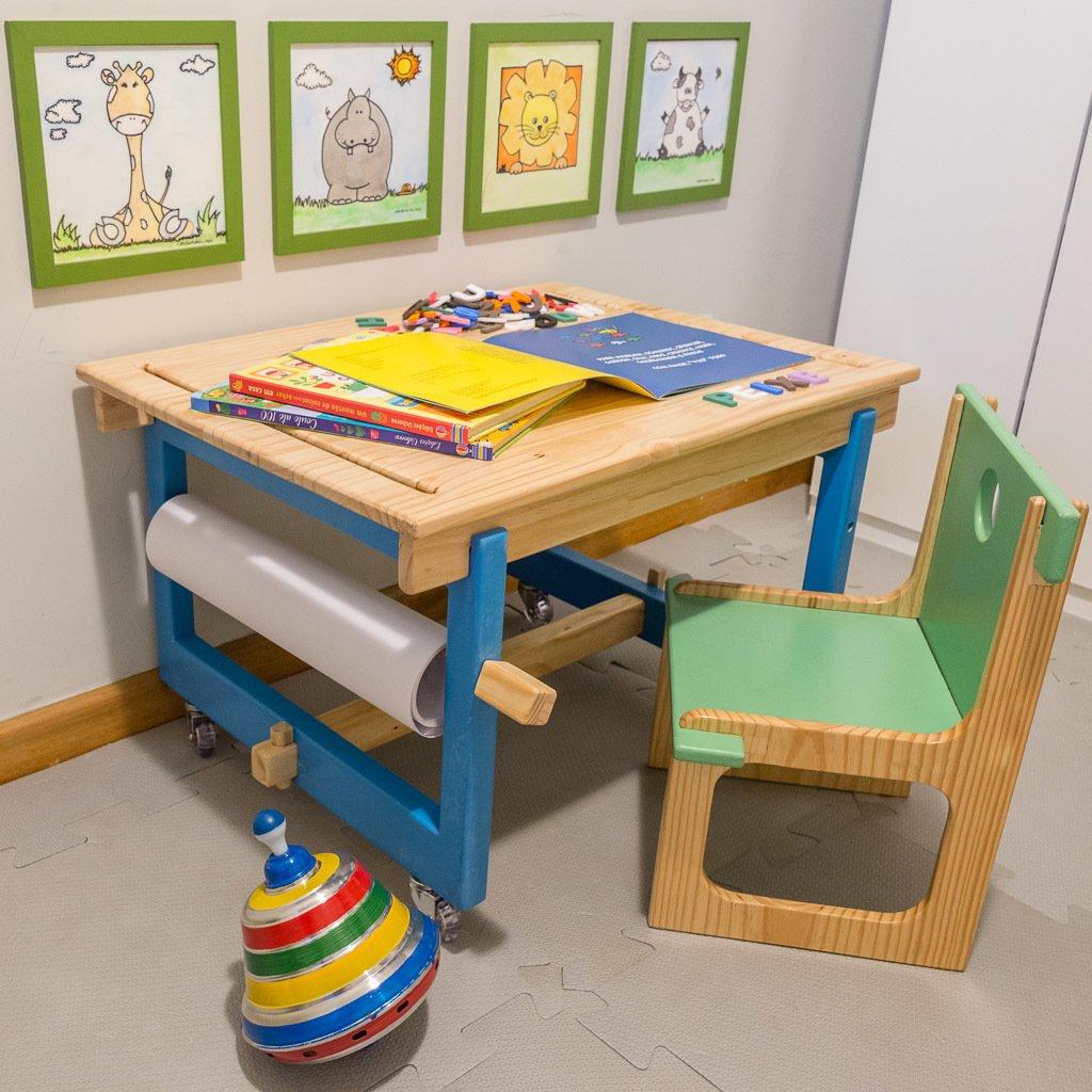 Mesa Infantil | Decoração Montessoriano