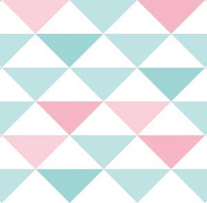 Papel de Parede Infantil Geométrico - Ref: 3600