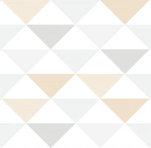 Papel de Parede Infantil Geométrico triângulos - Ref: 6303