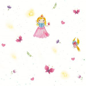 Papel Parede Princesa - Ref: 3609
