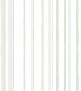 Papel de Parede listrado Verde e Cinza - Ref: 3621