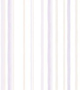 Papel de Parede listrado lilás - Ref: 3628
