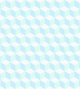 Papel de Parede Geométrico Azul - Ref: 3644