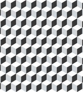 Papel de Parede Geométrico - Ref: 3646