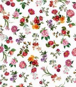 Papel de Parede Floral - Ref: 3651
