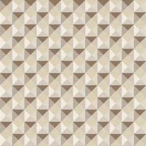 Papel de Parede Geométrico Bege Escuro 3706
