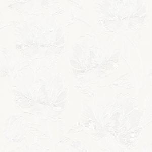 Papel de Parede Floral Branco 3801