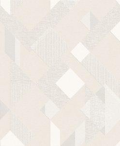 Papel de Parede Geométrico Bege claro 3808