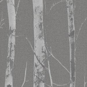 Pape de Parede troncos cinza escuro 5433-10