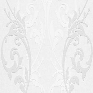 Papel de Parede Arabesco branco 4029-01