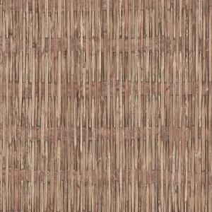 Papel de Parede estilo bambu marrom 6393-11