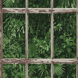 Papel de Parede janela floresta 6373-07
