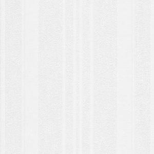 Papel de Parede listrado Branco 5393-10