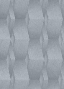 Papel-de Parede azul claro prateado 10046-10