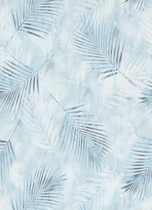 Papel de Parede Folhas azul marinho 02579-20