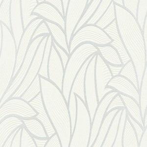Papel de Parede Folhas off white 10023-01