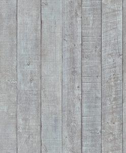 Papel de parede amadeirado cinza claro 6367-15