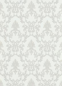 Papel de parede arabesco Bege claro 6376-01