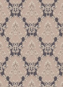 Papel de parede arabesco marrom 6376-11
