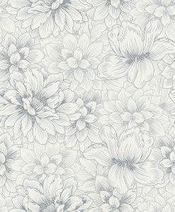 Papel de parede florido 5425-10