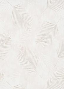 Papel de parede folhas bege 02579-14