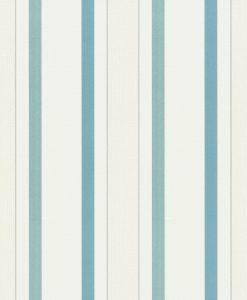 Papel de parede listrado azul verde 5429-08