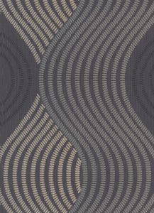 Papel de parede pontilhados marrom bege 10045-15