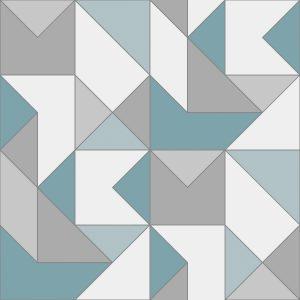 Ref: 4106 - Papel de parede Geométrico