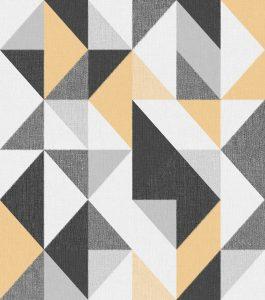 Ref: 4119 - Papel de Parede com formas Triangulares.
