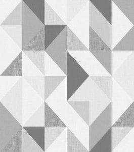 Ref: 4122 - Papel de parede com formas triangulares.