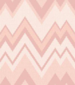 Ref: 4134 - Papel de parede Linhas sinuosas em rosa